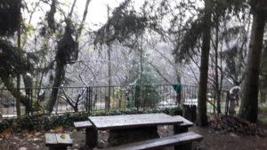 A Bakonyban már november első hetében leesett a hó :-)